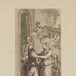 Visitación de la Virgen a Santa Isabel