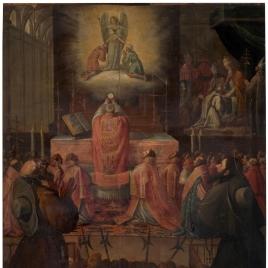 Confirmación de la Orden Trinitaria y milagrosa visión del papa Inocencio III