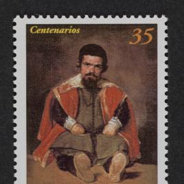 Serie de sellos IV Centenario del nacimiento de Velázquez