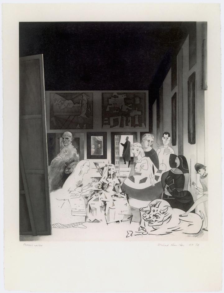 Las meninas de Picasso, de Richard Hamilton