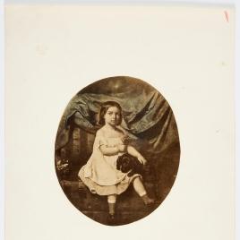 Retrato de la niña de Schakeri