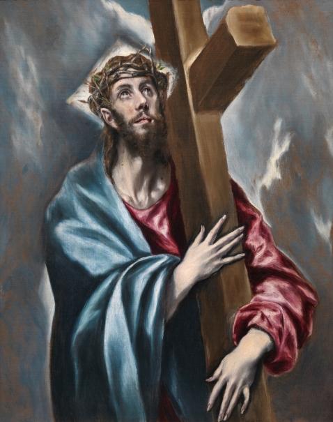 Cristo abrazado a la cruz