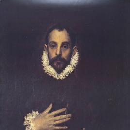 El Greco [Material gráfico] : Caballero de la mano en el pecho / Museo Nacional del Prado.