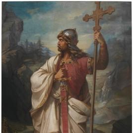Don Pelayo, rey de Asturias