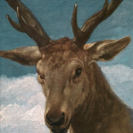 Head of a Deer