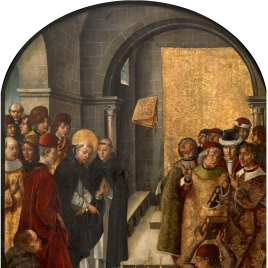 Saint Dominic and the Albigensians