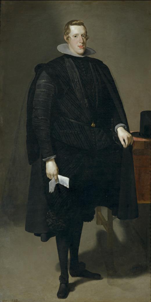 'Felipe IV' de Velázquez, pieza central de la exposición sobre retratos tempranos de la corte española presentada hoy en el Meadows Museum de Dallas