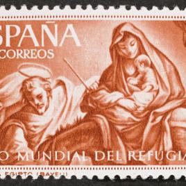 Serie de sellos Año mundial del refugiado