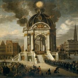 La procesión de Cristo Redentor en Amberes, 27 de agosto de 1685