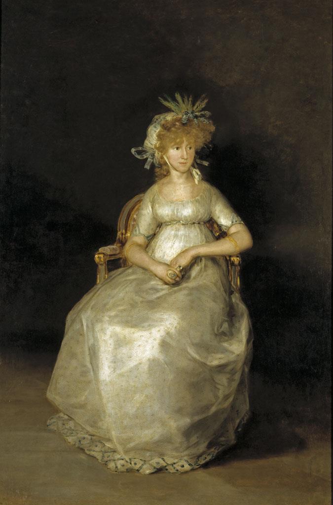 Condesa de Chinchón, La [Goya]
