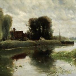 Orillas del Waal (Holanda)