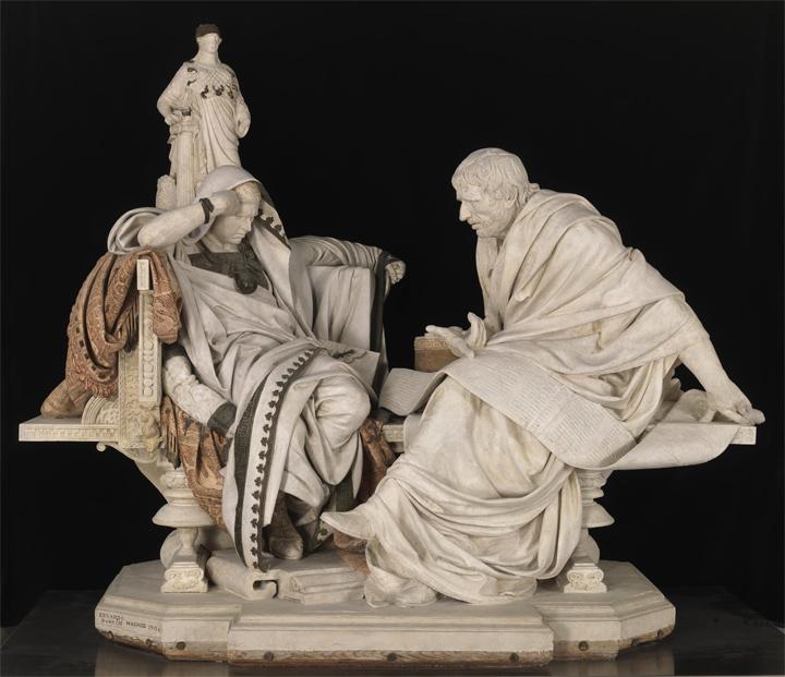 The Restoration of Nero and Seneca by Eduardo Barrón