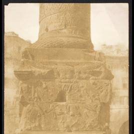 Base de la Columna de Trajano en el Foro, Roma