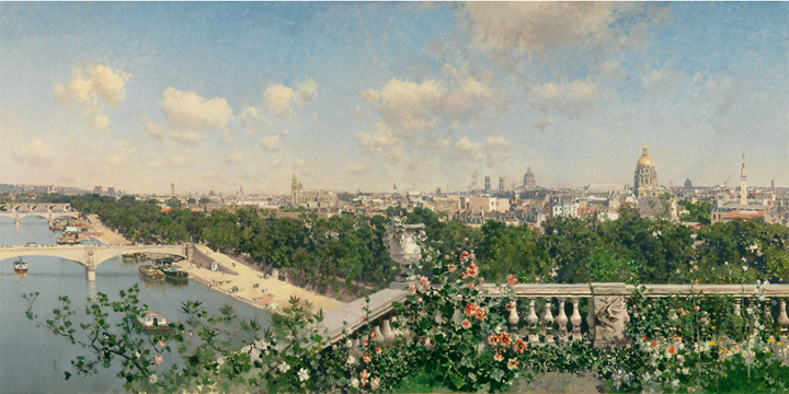 French and Italian Landscapes after 1872