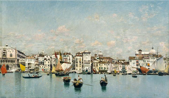Views of Venice (1873-1908)