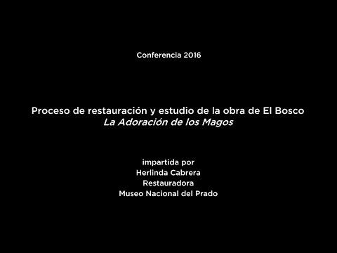 Conferencia: Proceso de restauración y estudio de la obra del Bosco: La Adoración de los Magos