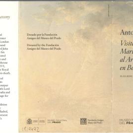 Antonio Joli : visita de la reina María Amalia de Sajonia al Arco de Trajano en Benevento / Museo Nacional del Prado.