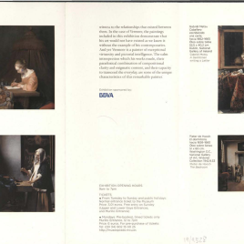 Vermeer : el interior holandés = Vermeer: the dutch interior /Museo Nacional del Prado.
