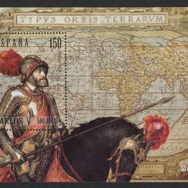 Serie de sellos V Centenario del nacimiento del emperador Carlos I