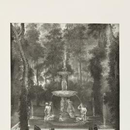 La Fuente de los Tritones en el Jardín de la Isla de Aranjuez