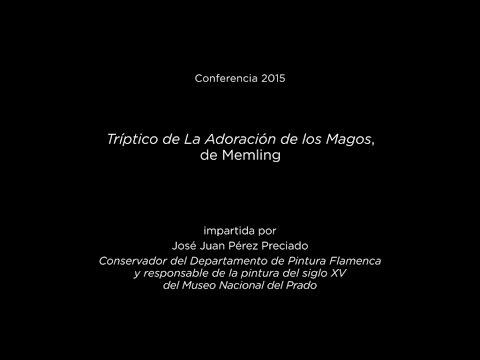Conferencia: Tríptico de La Adoración de los Magos, de Memling