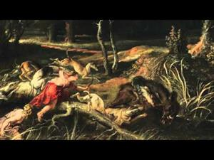 Obras comentadas: Atalanta y Meleagro cazando el jabalí de Calidonia, de Rubens
