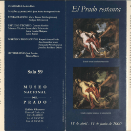 El Prado restaura / Museo Nacional Prado.