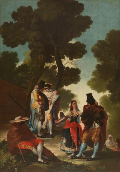 El paseo de Andalucía, o La maja y los embozados