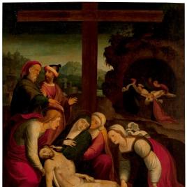 Lamentación ante Cristo muerto