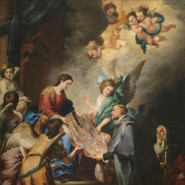 The Apparition of the Virgin to Saint Ildefonso