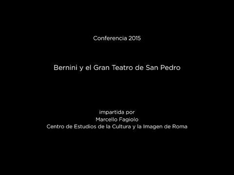 Conferencia: Bernini y el Gran Teatro de San Pedro