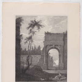 El Arco de Tito en Roma