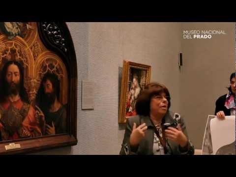 Obras comentadas: Cristo entre la Virgen María y San Juan Bautista, Jan Gossaert (1510-1515)
