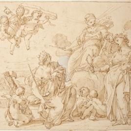 Alegoría del papado de Alejandri VIII