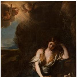La Magdalena en el desierto