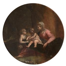 La Virgen con el Niño y San Juan
