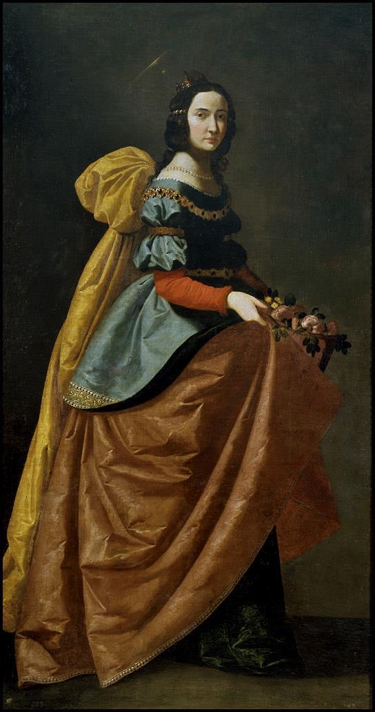 Santa Isabel de Portugal [Zurbarán]