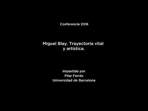Conferencia: Miguel Blay. Trayectoria vital y artística