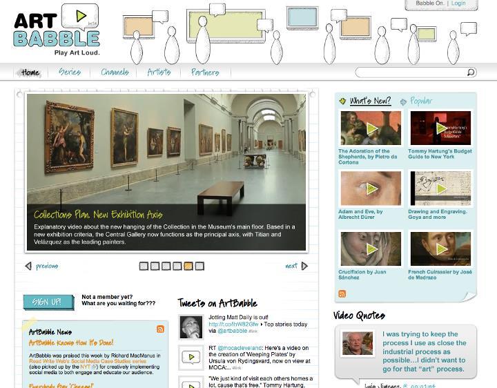 El Museo del Prado se incorpora a ArtBabble
