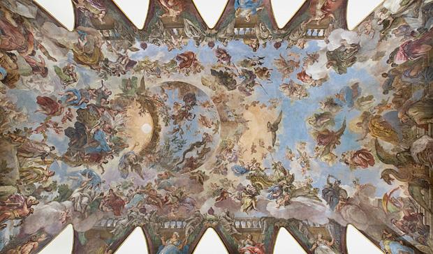 El fresco del Casón: Apoteosis de la Monarquía española