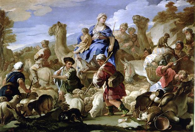 Giordano en Italia
