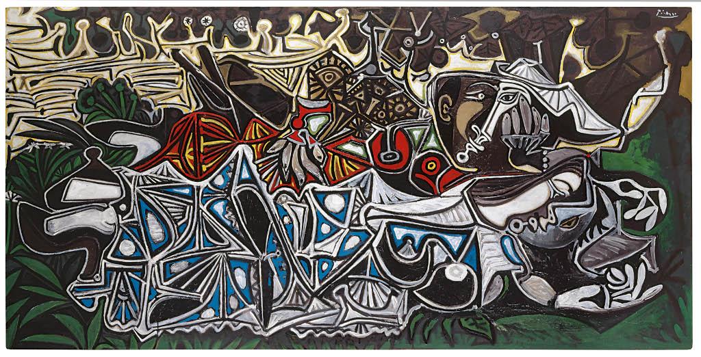 Muchachas a la orilla del Sena, según Courbet