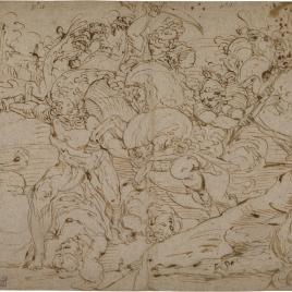Batalla entre Hércules y las Amazonas