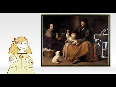 Obras comentadas: La sagrada familia del pajarito, de Murillo