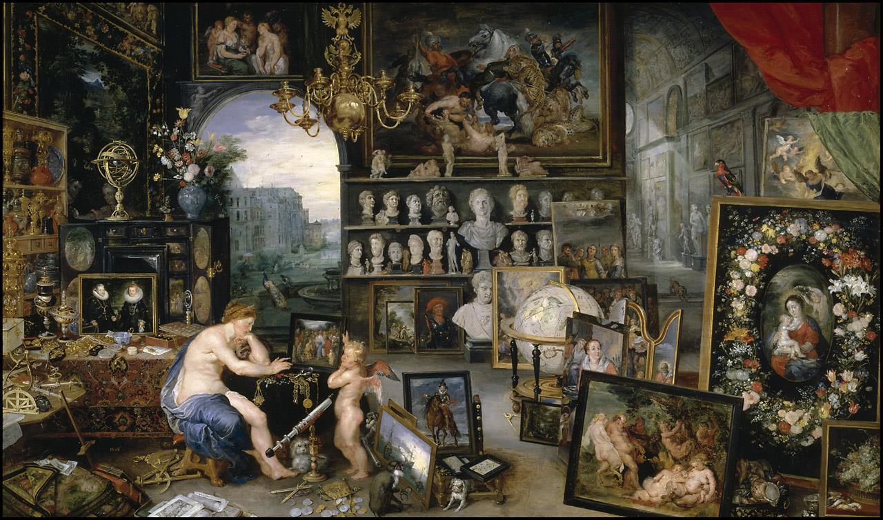 Cinco Sentidos, Los [Brueghel de Velours].