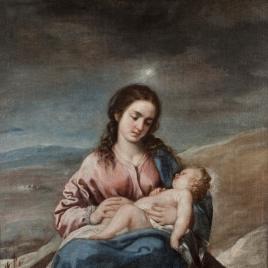 La Virgen con el Niño o Virgen del Lucero