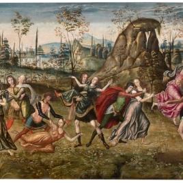 La continencia de Escipión. El rapto de las sabinas
