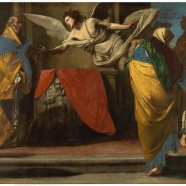 El nacimiento del Bautista anunciado a Zacarías