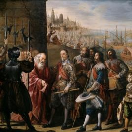 El socorro de Génova por el II marqués de Santa Cruz