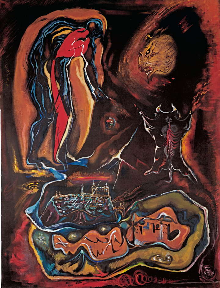 La visión de Toledo y el Greco por otros expresionismos